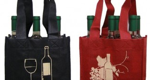 customized_waterproof_red_and_black_recycled_non_woven_wine_bags_3_bottle